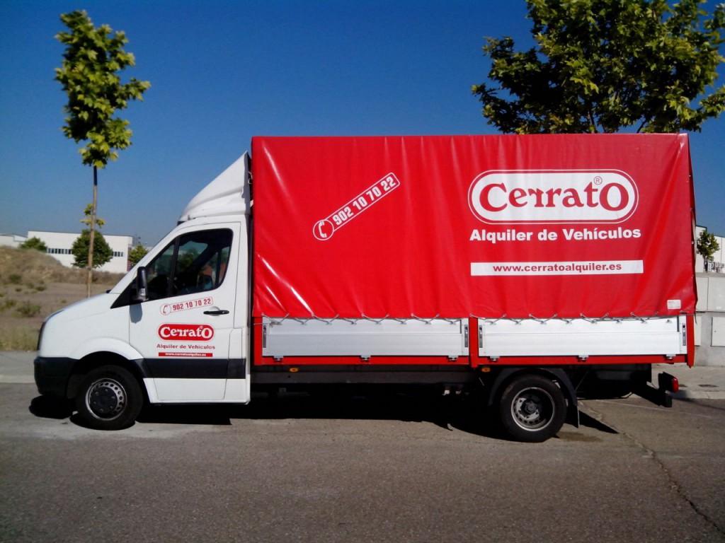 Grupo C Alquiler Camión De Caja Abierta Con O Sin Toldo Cerrato